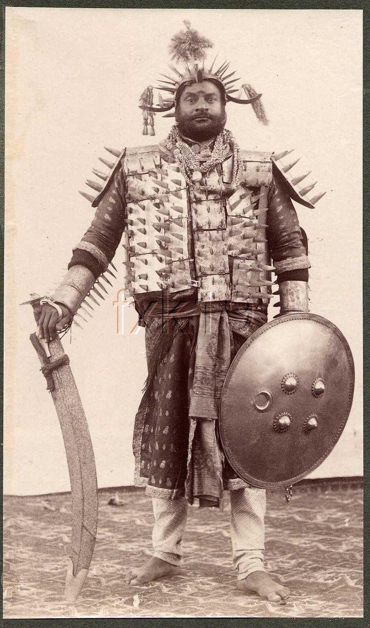 Samuel Bourne, Executioner, India, 1903