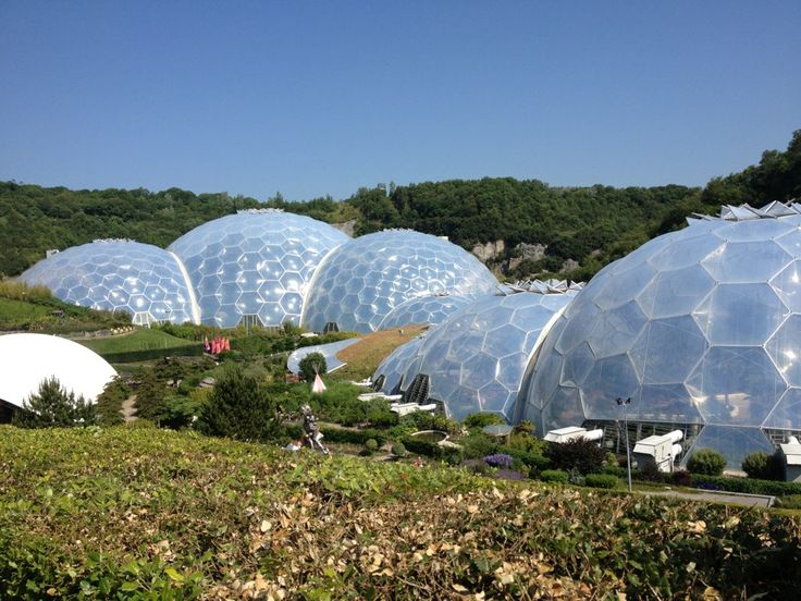 The Eden Project in Par, Cornwall