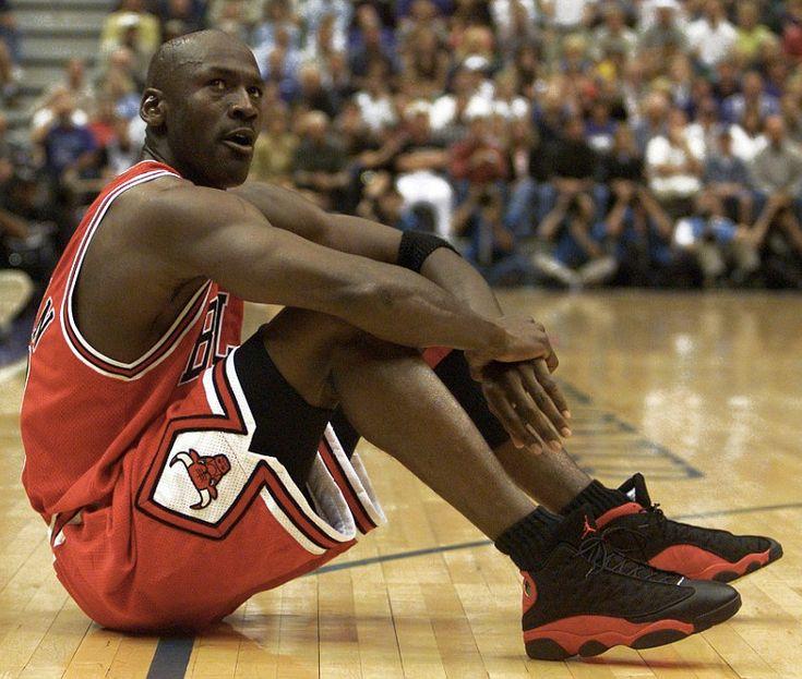 13 AJ XIII 13 Black Red MJ