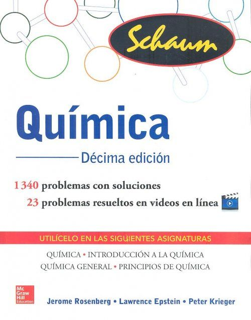 Química / Jerome L. Rosenberg, Lawrence M. Epstein, Peter J. Krieger. - 10ª ed. - México [etc.] : McGraw-Hill Education, D. L. 2014