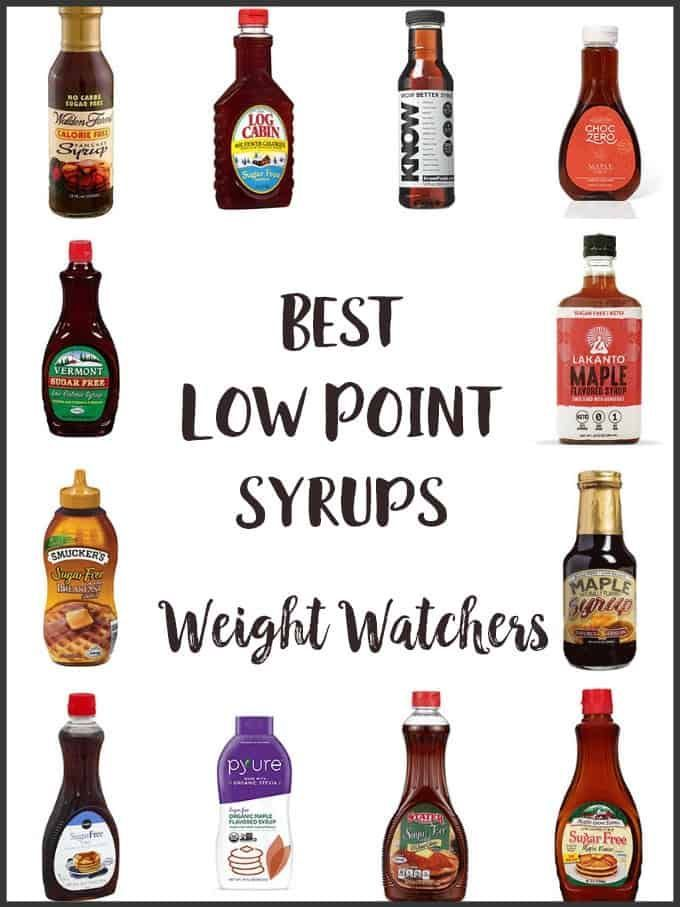 List of syrups