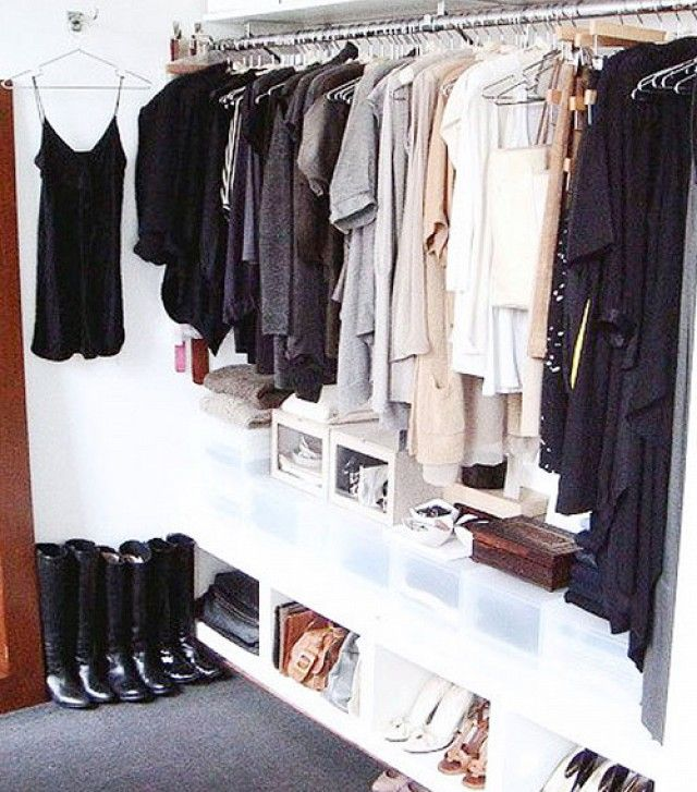 11 closet organisation ideas from pinterest vetements pinterest v tements et d co. Black Bedroom Furniture Sets. Home Design Ideas