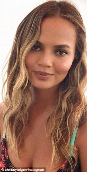 Back to blonde: Chrissy Teigen's hair colorist Tracey Cunningham has revealed the inspirat...