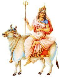Devi Maha Gauri or MahaGauri is worshipped on the eighth day of Navratri festival