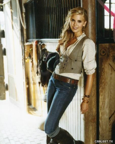 Maggie Grace - Cosmo Outtakes - Equestrian style