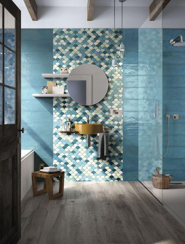 Mosaïque salle de bain  laquelle choisir fUtuRe home Pinterest