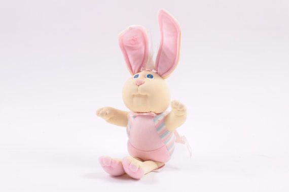 "Xavier Roberts Pink BUNNY BEE 1986 14"" Tooth Fairy Holder Cabbage Patch Kids  Pink Room  by ThePinkRoom"