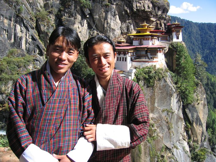 Guides at Tiger's Nest Monastery, Bhutan