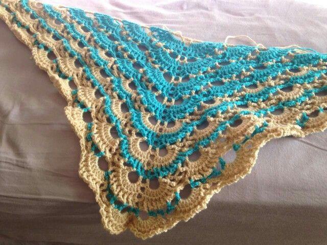 Yes, Yes Shawl Crochet Pinterest Shawl