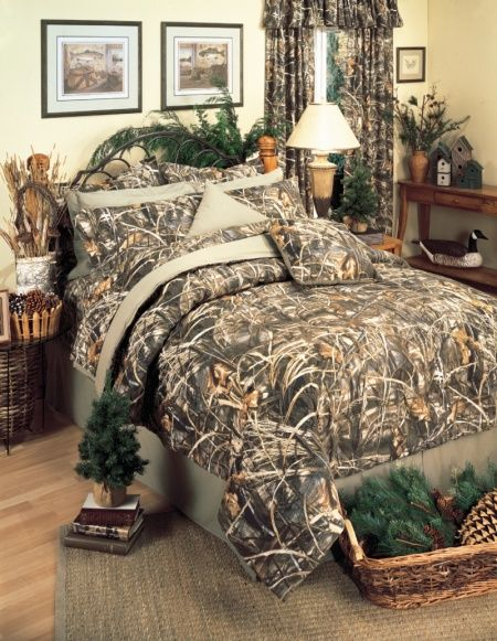 Advantage Max 4 Realtree Camouflage Bedding