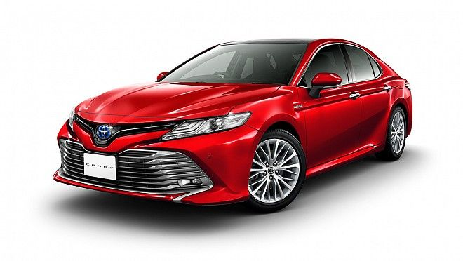 India-Bound Next-gen Toyota Camry Unveiled in Japan, Expected India Launch in 2018