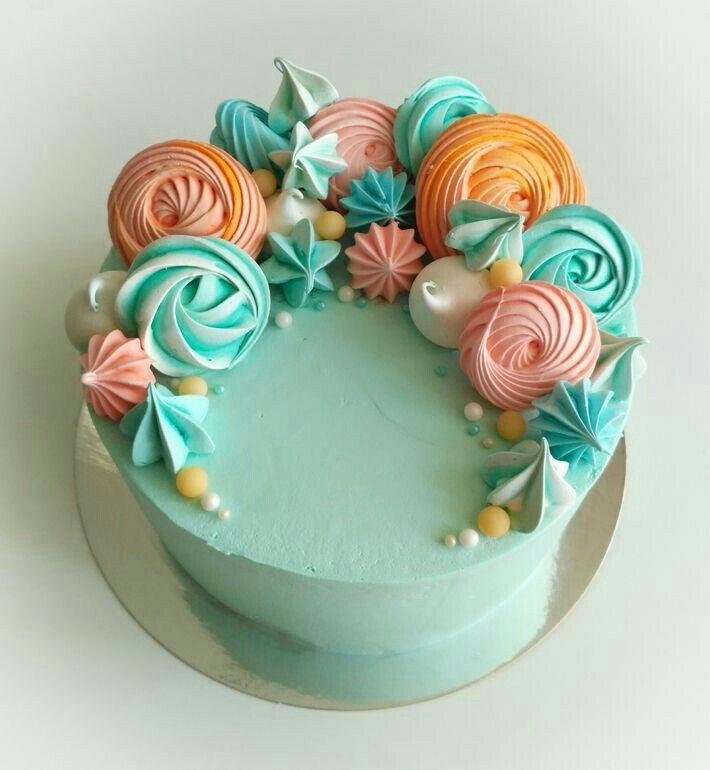 Торт с меренгой картинки