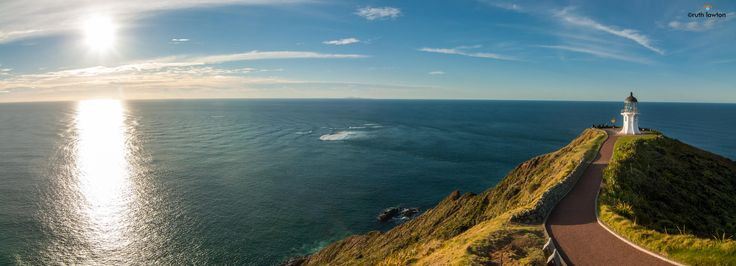Sunset at Cape Reinga © Ruth Lawton Photography 2013. All Rights Reserved.