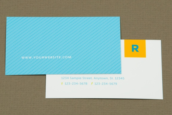 Colorful Real Estate Agent Business Card Template