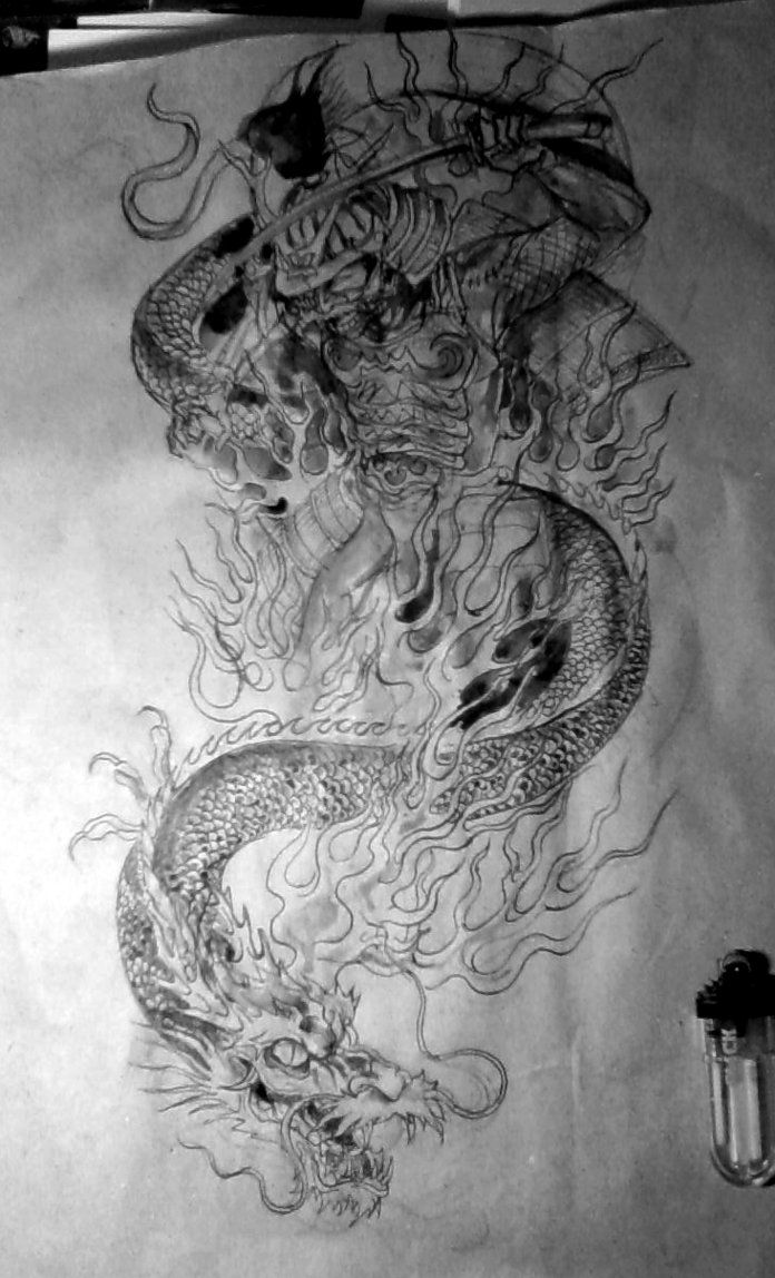 Sketch samurai tattoo samurai pinterest samurai for Japanese tattoo art