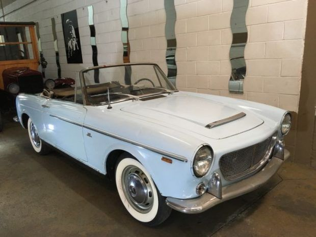 Unrestored & Complete: 1959 Fiat 1200 Cabriolet Project  http://bringatrailer.com/2017/03/03/unrestored-complete-1959-fiat-1200-cabriolet-project/