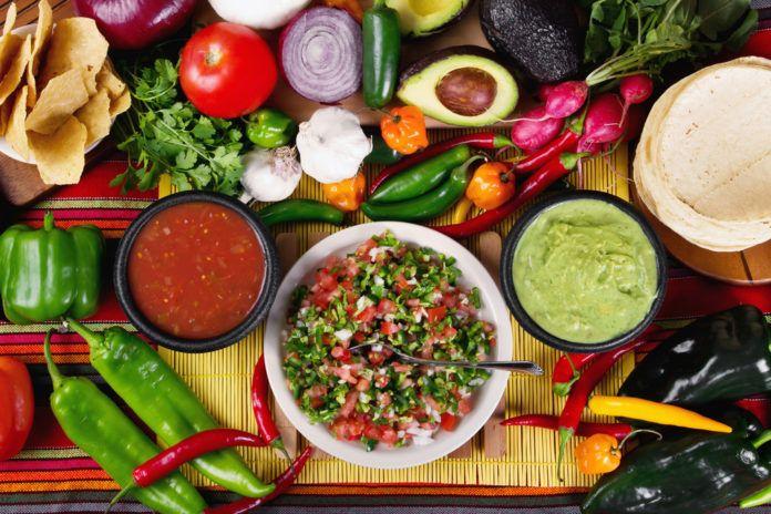 Dietní jídelníček inspirovaný Mexikem I.