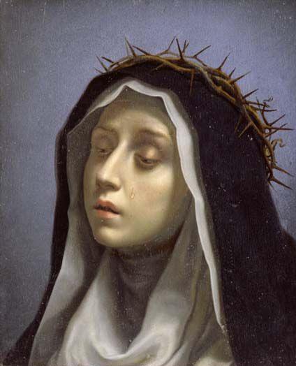 Carlo Dolci (1616 - 1686) -St. Catherine of Siena,1665