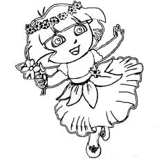Dora The Latino Girl Coloring Pages