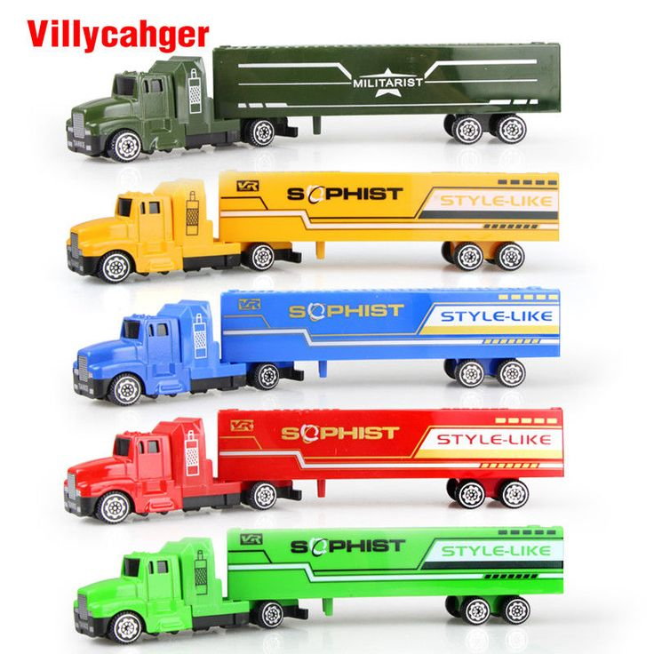 Container Model Truck Cargo Transportation 5 Colors Christmas Birthday Gift  #5ColorsContainer