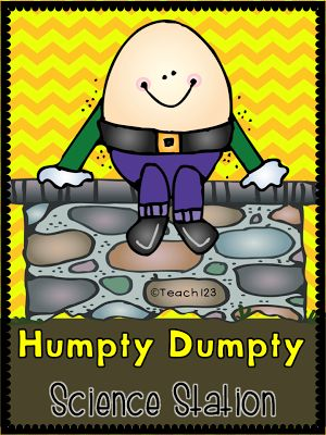 FREE Humpty Dumpty Science Station