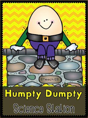 FREE Humpty Dumpty Science Station