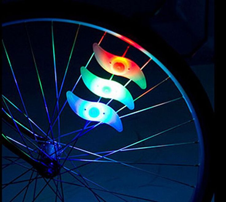 Bike Light Hot Bicycle Light Colourful Silicone Bike Spoke Wheel Light Safe Outdoor Bicycle Accessories with Battery