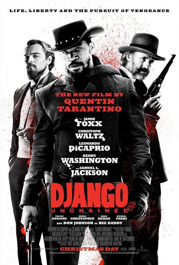 DJanco Unchained #Jamie Foxx #Christoph Waltz #Samuel L. Jackson #Leonardo DiCaprio #Quentin Tarantino
