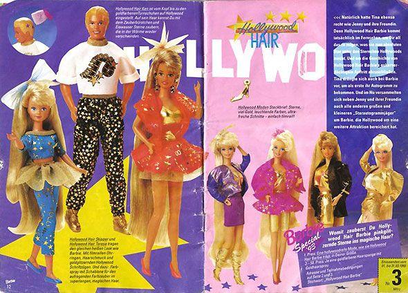 голливудские волосы Барби Голливуд: Hollywood Hair Teresa, Skipper, Ken