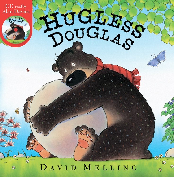 Hugless Douglas (CD & Book)  By David Melling  A delightful CD and paperback edition of the bestselling picture book narrated by Alan Davies.