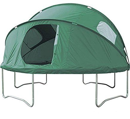 10ft Trampoline Tent. For Imaginative Play, Picnics, and Making a Den!