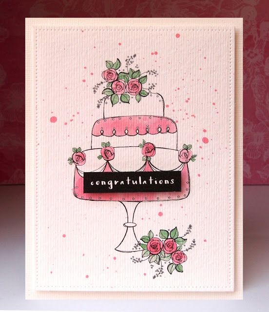 Wedding Card @papercraftmags