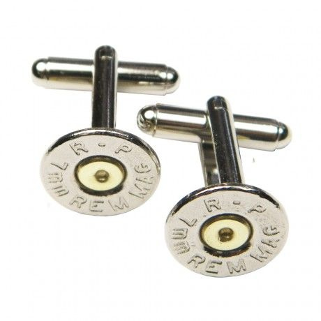 Maybe hubbs would wear cufflinks if they looked like bullets?