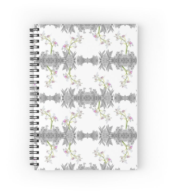 Floral Collage Pattern Notebook by DFLC Prints