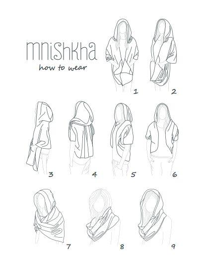 how to wear mnishkha