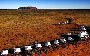 Uluru in Australia | Enjoy luxury and comfort at Longitude, the closest accommodation to the red rock formation