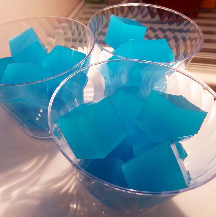Cubitos de gelatina