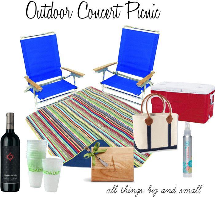 outdoor concert picnic