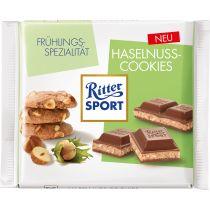 RITTER SPORT Frühlingssorte Haselnuss-Cookies (2015)