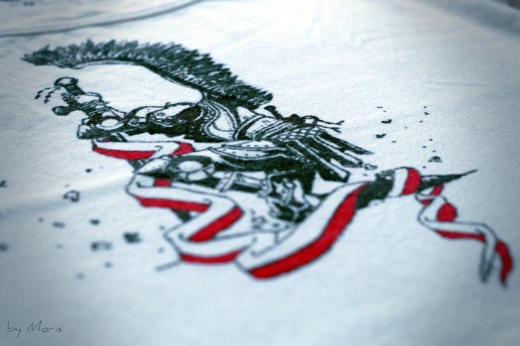#DIY #Tshirt #Polish #hussar #Poland #handmade