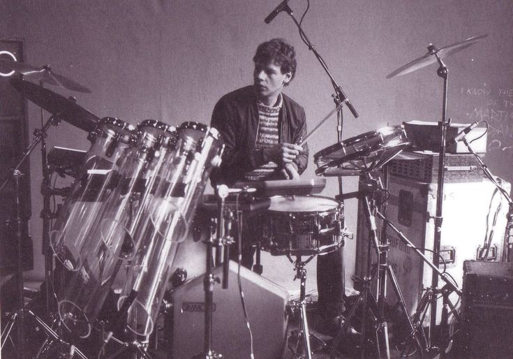 Bill Bruford drummer of Yes and King Crimson