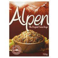6 breakfast cereals all under 200 calories! Muesli, Alpen Original, special k