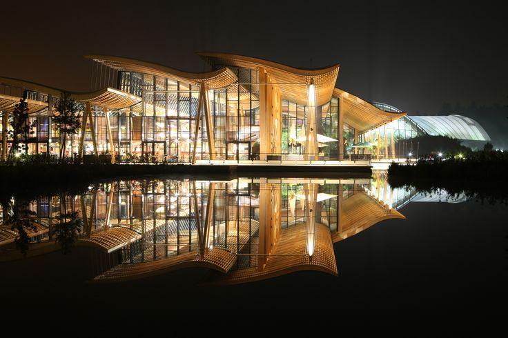 Domaine des Trois Forêts - Hattigny (57) - Center Parcs - Groupe Pierre - Archi.: Atelier Jean de Gastines Architecture - NF HQE Bâtiments Tertiaires niveau HQE Exceptionnel