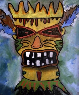 Tiki Head 9 yrs - LilCreativeKids