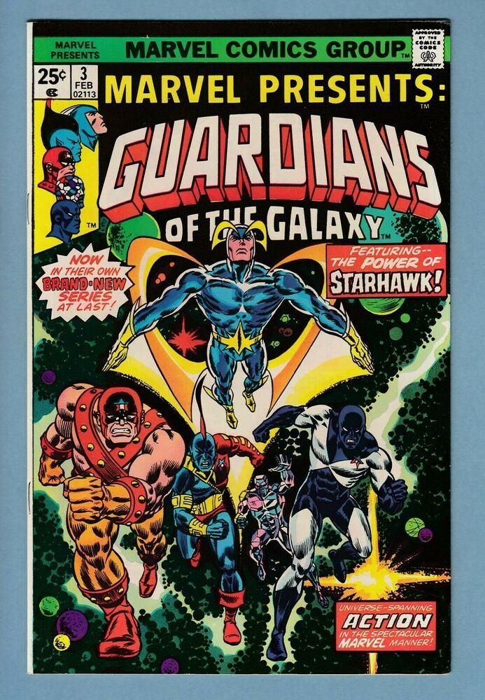 Marvel Presents 3 Vfn 8 5 1st Solo Guardians Of The Galaxy Book Cents Comic Book Artwork Comics Comic Covers