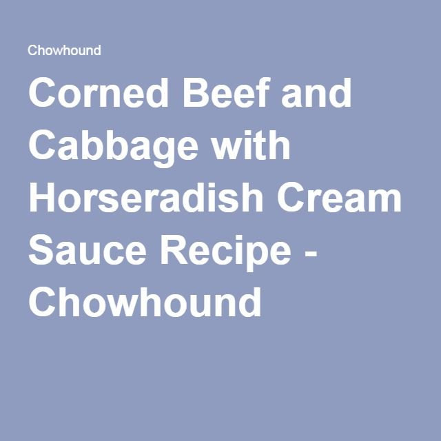 17 Best ideas about Horseradish Cream Sauce on Pinterest ...