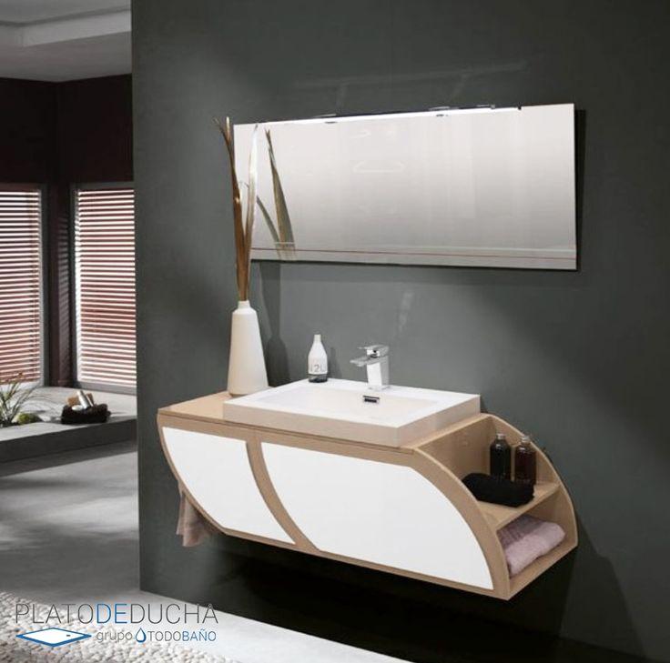 M s de 25 ideas incre bles sobre espejos de ba o en pinterest - Modulos de bano ...