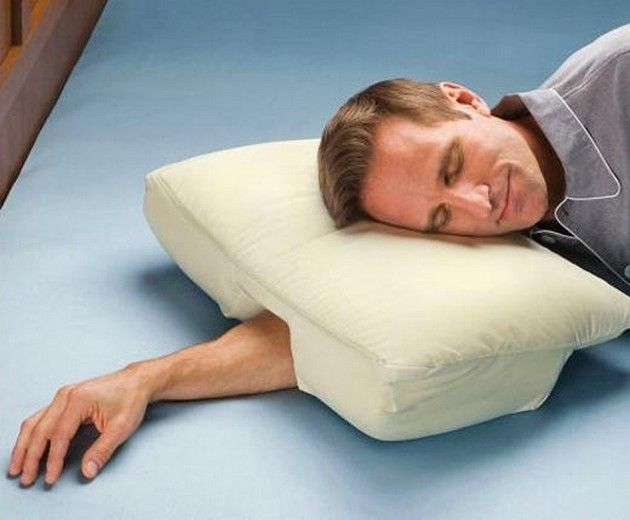 More Cool Innovative Products (15 Pics) - Arm sleepers pillow --- Lord knows that I need one of these.