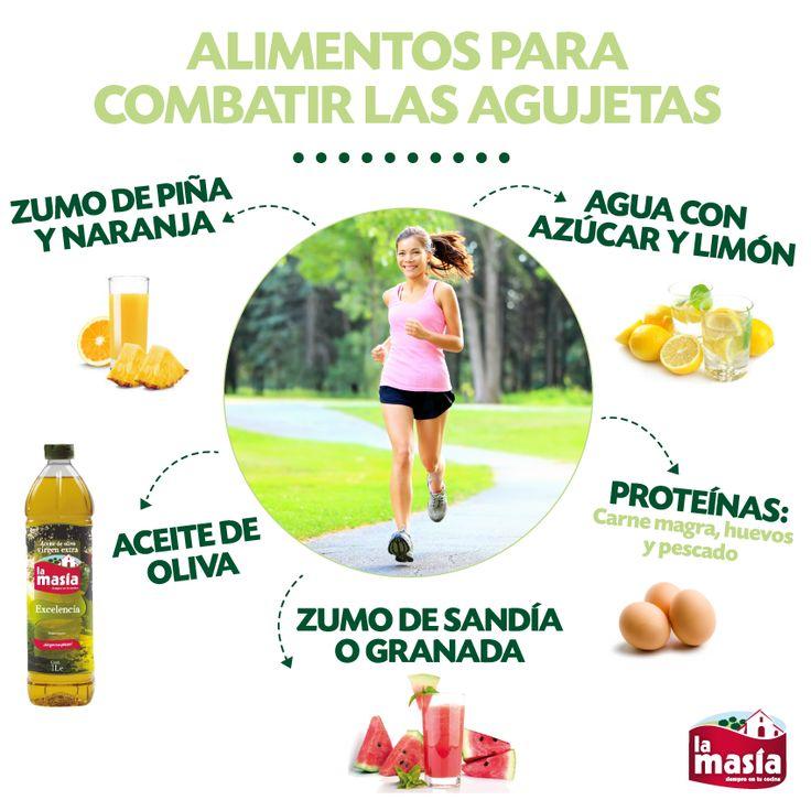 ¿Has hecho #deporte y tienes agujetas? Estos son los alimentos que no pueden faltar en tu #dieta si quieres eliminarlas.
