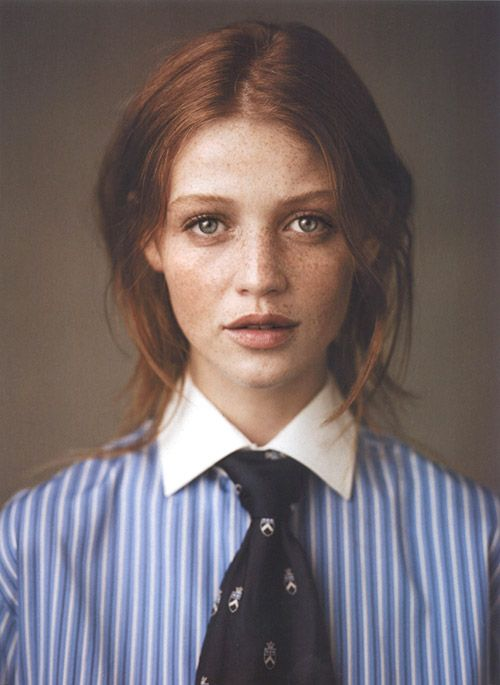 like Saffron Burrows and Danny Bonaduce had an illegitimate daughter who played varsity polo at a cross-dressing prep school